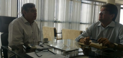 Presidente da ACCG se reúne com Dalton Gadelha na Unifacisa
