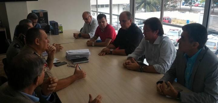 Associação Comercial reuniu-se com o Comando Regional de Polícia Militar reivindicando melhorias para segurança da cidade