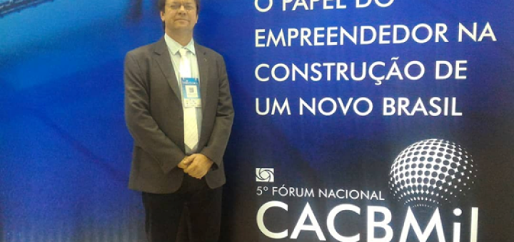 ACCG participou do 5º Fórum CACB Mil, em Brasília