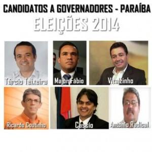 cANDIDATOS A GOVERNADORES ELEIÇÕES 2014